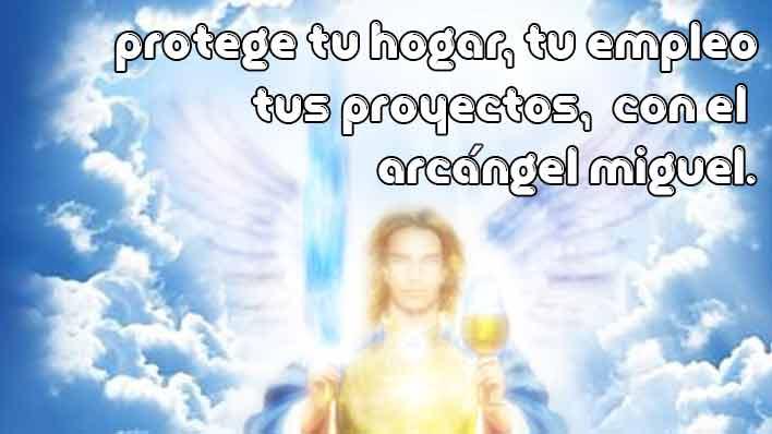 Protege la casa, piso o trabajo con el Arcángel Miguel