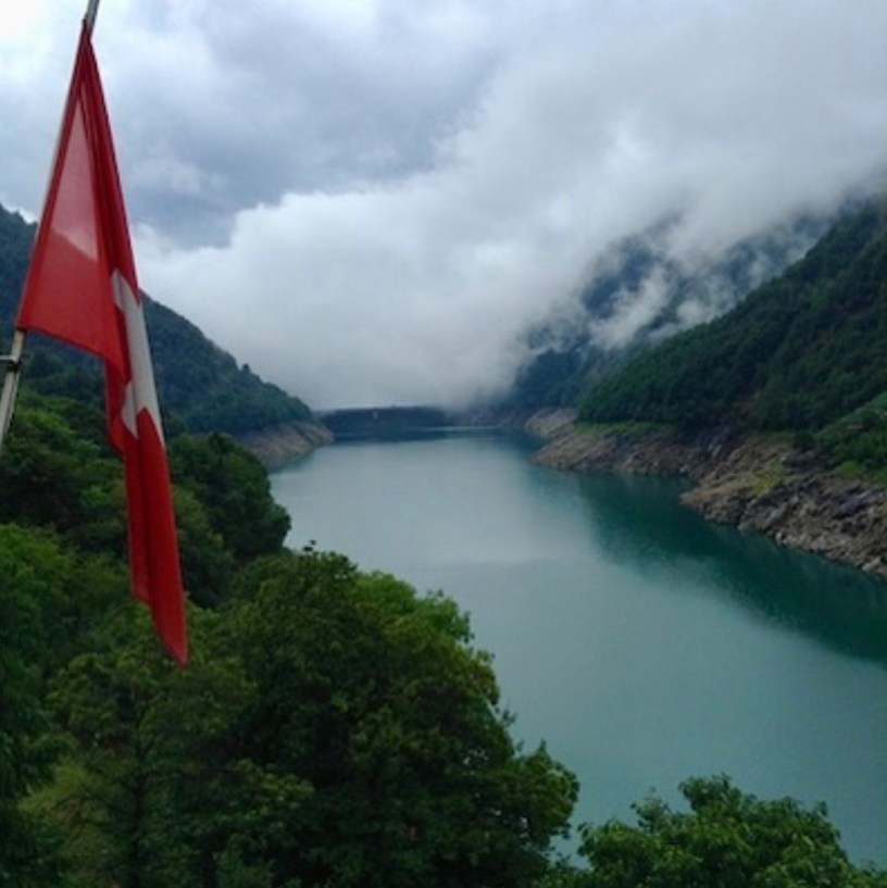 Svizzera montagna acqua Paolo Centofanti