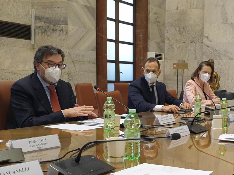 Mise Giorgetti Alitalia 26 febbraio 2021