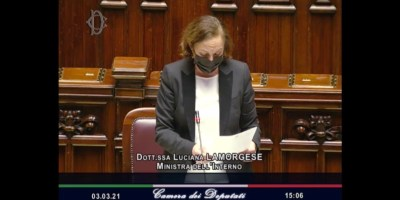 Question Time ministro Luciana Lamorgese