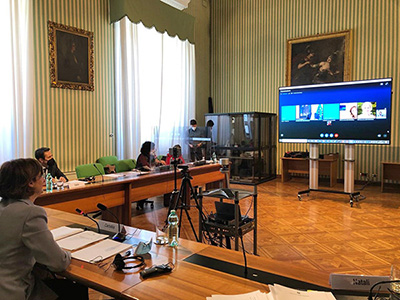 ministra Cartabia videochiamata commissario Reynders
