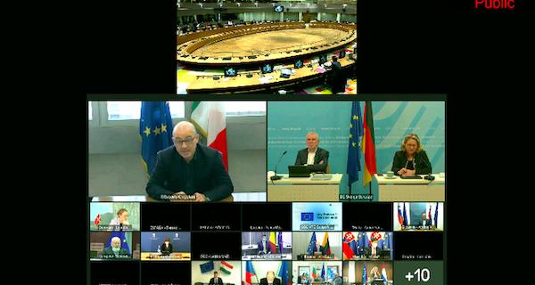 ministro Cingolani Consiglio UE