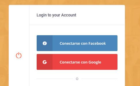 Conexiones con redes sociales
