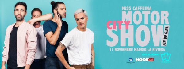 MISS CAFFEINA anuncia concierto especial de FIN DE GIRA DETROIT en LA RIVIERA