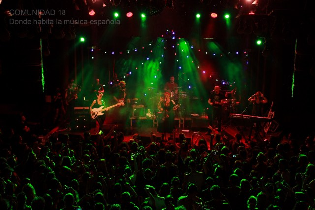 Amparanoia se apodera de Barcelona con el fin de «Welcome Tour»