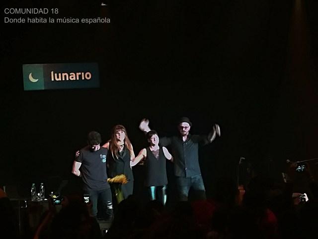 Entre hadas, girasoles y amigos regresó Rozalén al Lunario del Auditorio Nacional