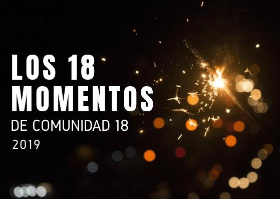 Los 18 momentos del año