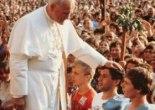 Papa João Paulo II e Jovens