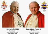 Papas - João XXIII e João Paulo II