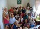 1º encontro da Novena de Natal 2014 - Casa da Nice