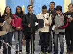 Jovens da Comunidade Santa Rosa de Lima