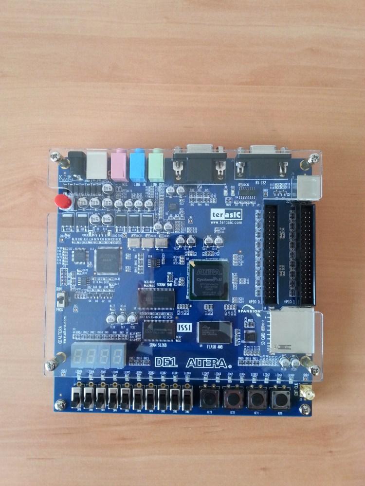 MSX con FPGA Altera DE1 sin conectores (2/6)