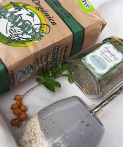 combo matero: mate, bombilla, blend de hierbas y yerba orgánica