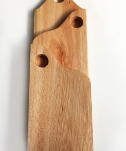 set de 3 tablas de madera de eucalipto
