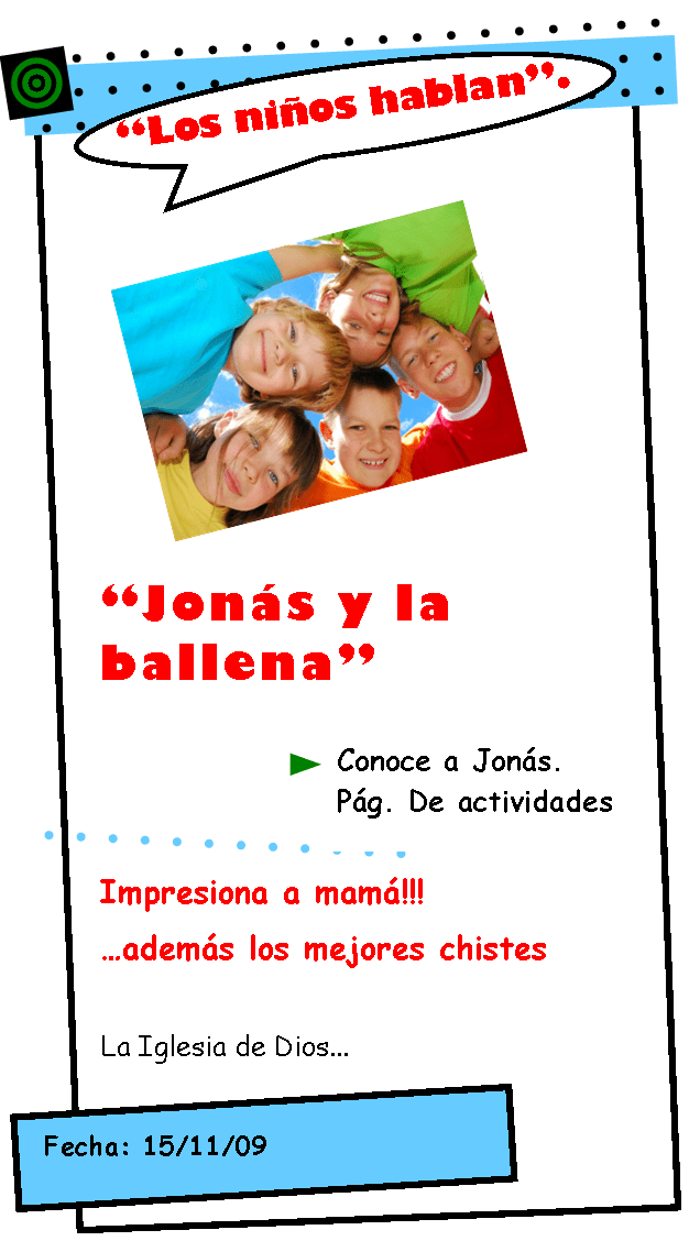 Los niños hablan…