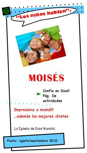 Moisés – Los niños hablan No. 6