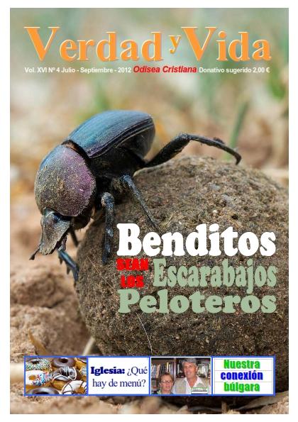 Revista Verdad y Vida | Julio-Septiembre 2012