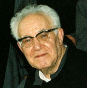 Don Divo Barsotti, primo piano.