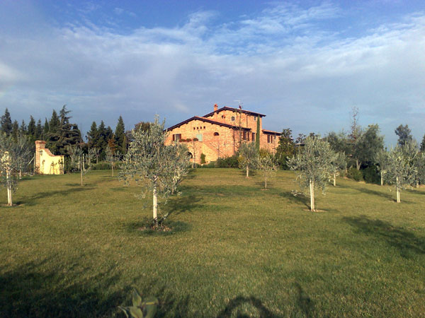 la villa a cortona (toscana)