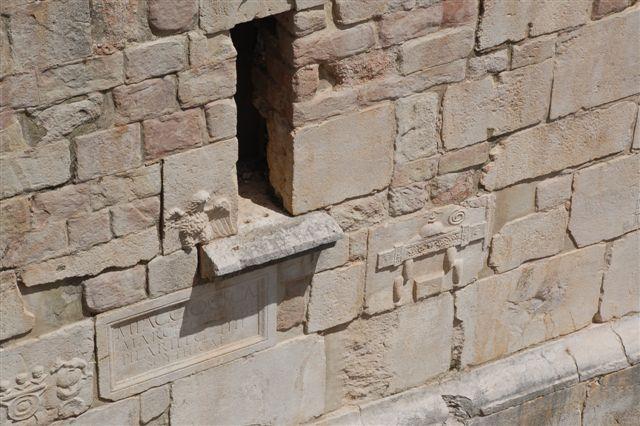 abbazia del goleto, torre febronia, particolare foto a.v.2008