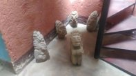 En allanamiento de la Puya localizan piezas arqueológicas. Vía @Bvasquez_pl