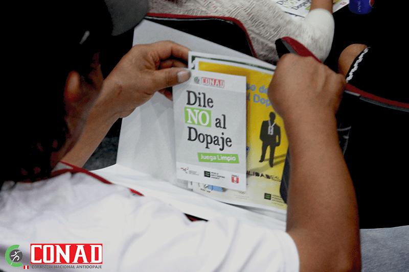El deporte peruano está prevenido contra el dopaje