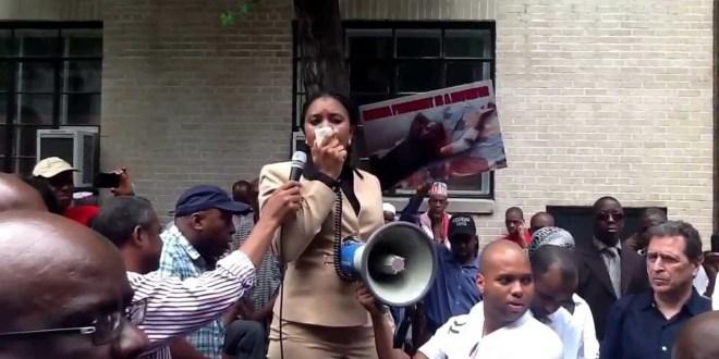 Manifestation de l'UFDG à New-York