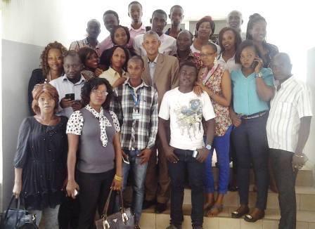 MJEJ - Le Secrétaire Général rencontre les stagiaires du ministère de la Jeunesse et de l'Emploi des jeunes