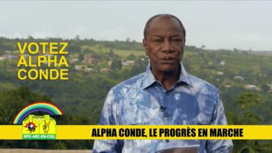 Alpha Condé en campagne