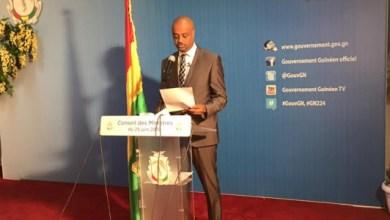 Damantang Albert Camara porte parole du gouvernement de Guinée