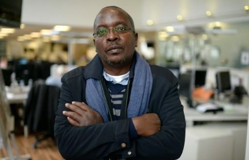 Le correspondant au Burundi pour l'AFP, Esdras Ndikumana, le 19 octobre 2015 à Paris | AFP/Archives | MIGUEL MEDINA