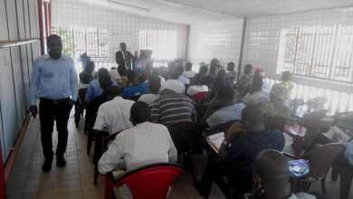 50 jeunes de la NGC, on bénéficier d'une formation en matière de Rédaction d'un rapport et les responsabilités du citoyen.
