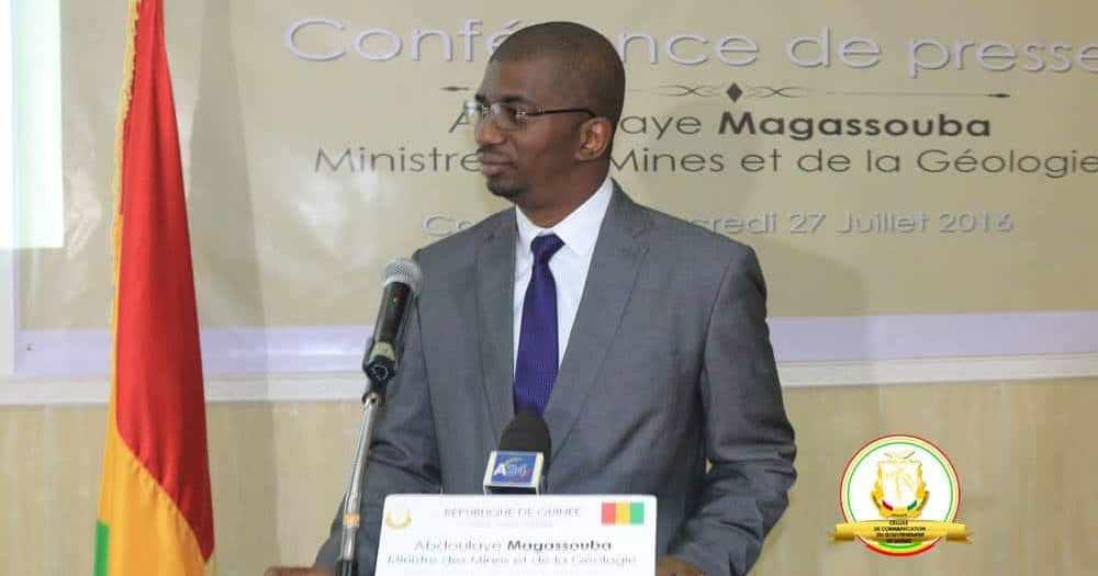 Le Ministre Abdoulaye Magassouba