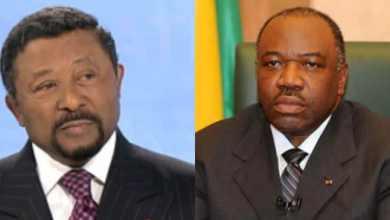 L'opposant Jean Ping (à gauche) et Ali Bongo l'actuel président du Gabon (à droite)