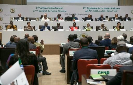 Des participants au 27e sommet des chefs d'Etat de l'Union africaine (UA) à Kigali, le 16 juillet 2016   AFP   CYRIL NDEGEYA