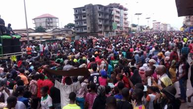 Manifestation de l'opposition guinéenne à Bambeto