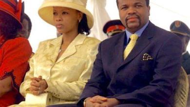 Le roi du Swaziland