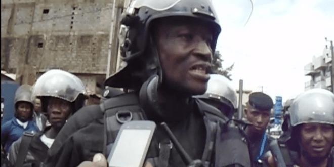 Colonel Ansoumane Camara Bafoé