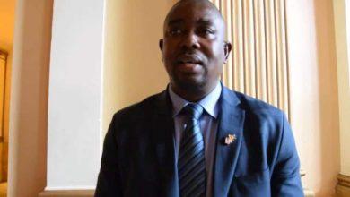 Le Ministre du Commerce Marc Yombouno