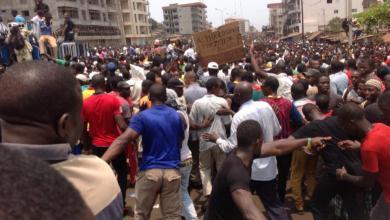 marche de l'opposition Guinéenne Bambeto