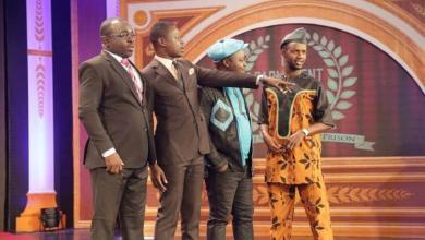 Mamadou Thug au Parlement du rire d'Abidjan