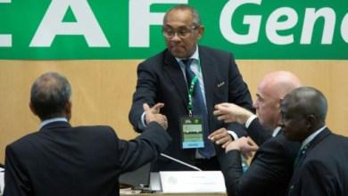 Le Malgache Ahmad Ahmad élu à la tête de la CAF à Addis Abeba, le 16 mars 2017 |:AFP:Archives | Zacharias Abubker