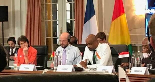 Le Ministre Damantang Albert Camara porte-voix de l'Afrique à la réunion ministérielle des pays membres du G20 autour de la question du Travail