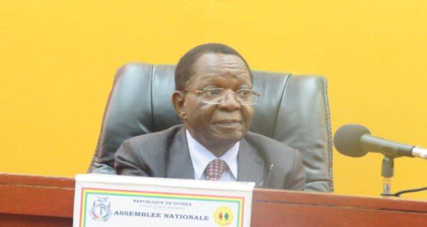 Le Président de l'assemblée national Kory koundouyano