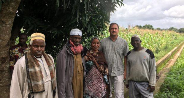 Le nouveau Conseiller Economique et Commercial John Stark a visité la région du Fouta