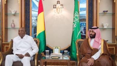 Le Président Alpha Condé reçu en audience par le Prince héritier d'Arabie Saoudite