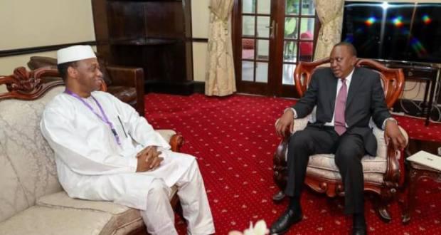 Le Premier Ministre Mamady Youla est à Nairobi