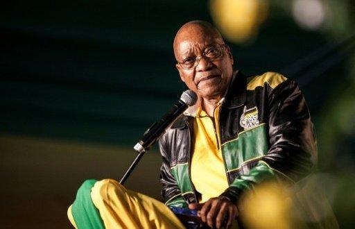 Le président sud-africain Jacob Zuma, le 12 avril 2017 à Soweto   AFP/Archives   John WESSELS