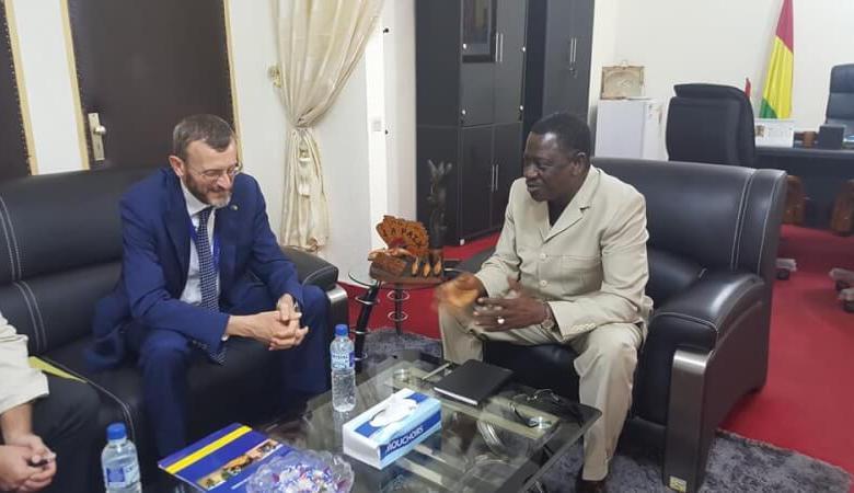 MPAEM - Réunion de prise de contact avec le chef de la délégation de l'Union Européenne