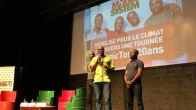 Magic System sur la scène du CCFG pour promouvoir la lutte contre le changement climatique en Afrique